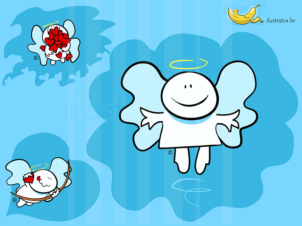 009 mascot Angel-lightbox